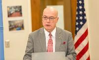 US Ambassador to Ghana -Robert P. Jackson