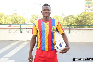Former Hearts of Oak star Joseph Esso was heavily linked with a move to Asante Kotoko