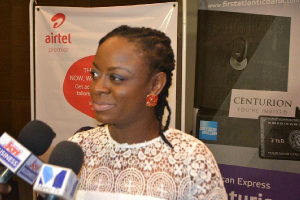 Rosy Fynn-Marketing Director, Airtel Ghana
