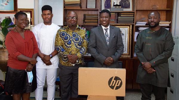 Chamber of Bulk Oil Distributors donates laptops to University of Ghana Business School