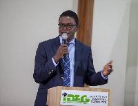 Dr. Emmanuel Akwetey, Executive Director of the Institute for Democratic Governance (IDEG)