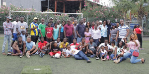 The aim of the fun day out was to build a strong bond among staff to increase productivity
