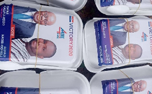 A file photo of an NPP campaign flier