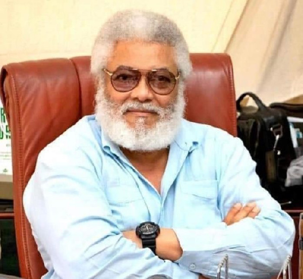 Until coronavirus goes, my 'Wole Soyinka' hairdo isn't going – Rawlings