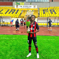 Faustina Ampah is up for female footballer of the year