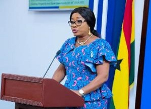 Cynthia Mamle Morrison, Minister Of Gender Children And Social Protection
