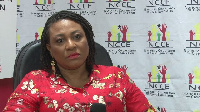 Chairperson of National Commission on Civic Education, Josephine Nkrumah