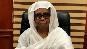 Aisha Musa is one of two women on Sudan's Sovereign Council
