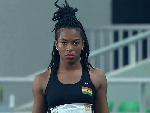 Ghana's triple jump queen, Nadia Eke