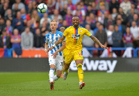 Crystal Palace striker, Jordan Ayew has been barren in front of goal this season