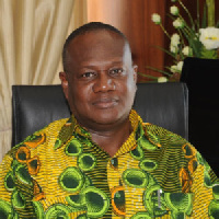 Prosper Douglas Bani, Minister of the Interior