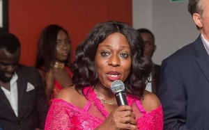 Madam Catherine Ablema Afeku,  Minister of Tourism, Culture and Creative Arts