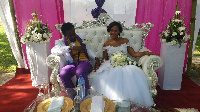 Kwaw Kese and his wife Doris Kyei Baffour