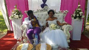 Kwaw Kese Wedding White