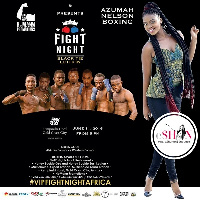 eShun Performs at VIP Fight Night at Kempinski, Accra