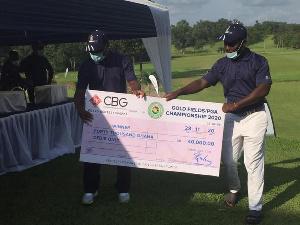 Lucky Annan Ayisah alked away with GH¢40,000