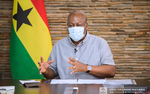 Akufo-Addo embarking on \'sakawa\' sod-cutting for votes – Mahama