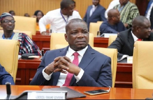 Member of Parliament for Adaklu constituency, Kwame Governs Agbodza