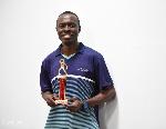 Table Tennis star, Derek Abrefa