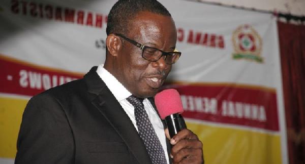Benjamin Kwame Botwe, the President of the Pharmaceutical Society of Ghana