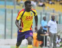 Hearts of Oak striker, Foovi Aguidi