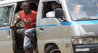 Commercial vehicle, popularly known as trotro
