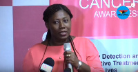 Senior Resident doctor at the Radiotherapy Department of KBTH, Dr Naa Adorkor Aryeetey