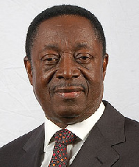Former Governor of the Bank of Ghana, Dr Kwabena Duffuor,