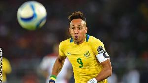 Aubameyang was on target for Gabon