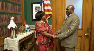 Kyeiwaa got married to Micheal Kissi Asare in USA