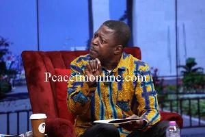 Member of Parliament for Bantama, Hon. Okyeam Aboagye