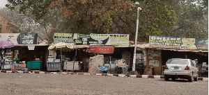 Some shops at the University of Ilorin shuttle park stayed open during the months-long strike