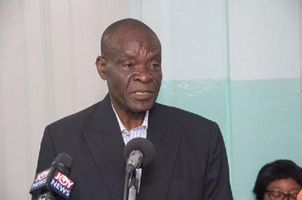 Former MP for Hohoe South, Kosi Kedem