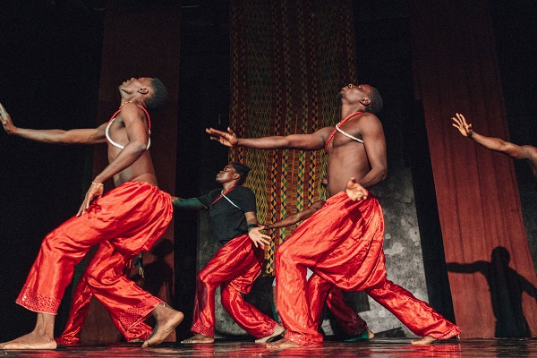 Dancers from Noyam Dance Institute in action