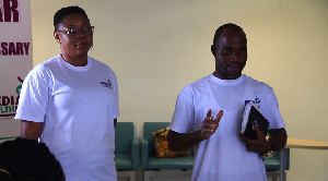 Rev. John Azumah and his wife were told that they would not survive