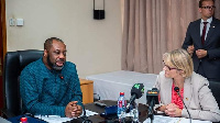 Dr Matthew Opoku Prempeh, Education Minister and German Education Minister, Anja Karliczek