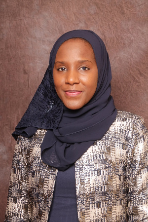 Halima Aliko Dangote, Group Executive Director, Commercial Operations of Dangote Industries Limited
