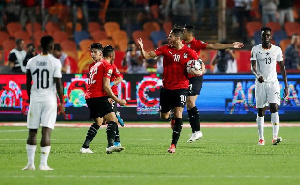 Egypt defeated Ghana 3-2 on Tuesday