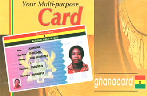File photo of a National ID card