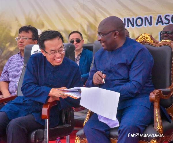Bawumia commissions 'Ghana-China Friendship Road'
