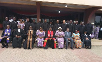 Leadership of the EPCG in a group picture with Pastors