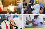 African presidents who have publicly received coronavirus shots