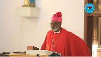 Most Reverend Charles Gabriel Palmer- Buckle, Archbishop,  Roman Catholic Church, Ghana