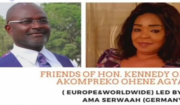 They prayed for protection, strength and guidance  for  Kennedy Agyapong