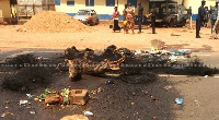 The two suspects are among four others who escaped from the Somanya police cells