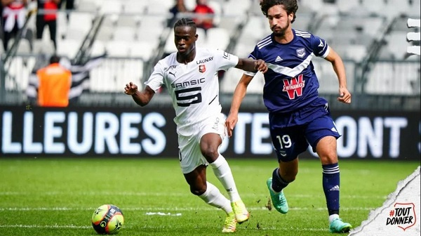 Stade Rennes coach wants Kamaldeen to find new 'weapons'