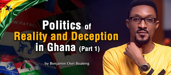 Benjamin Osei  Boateng is the writer of this article