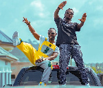 Okyeame Kwame's 'Yeeko' takes a corporate twist as Silver Star, Peugeot Staff jam to it