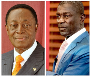 Dr Kwabena Duffuor is founder of UniBank and Prince Kofi Amoabeng is the owner of UT Bank
