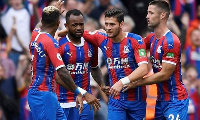 Jordan Ayew was in action for Crystal Palace